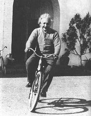 Einstein in California