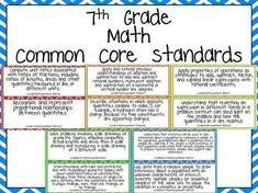 7th Grade Common Core